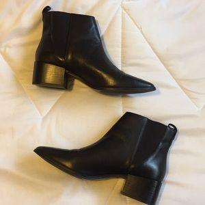 Zara Collection Black Botties (Block Heel)